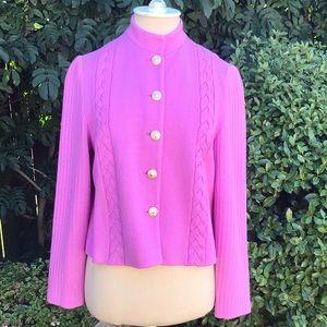 St. John Collection Knit Jacket Cardigan